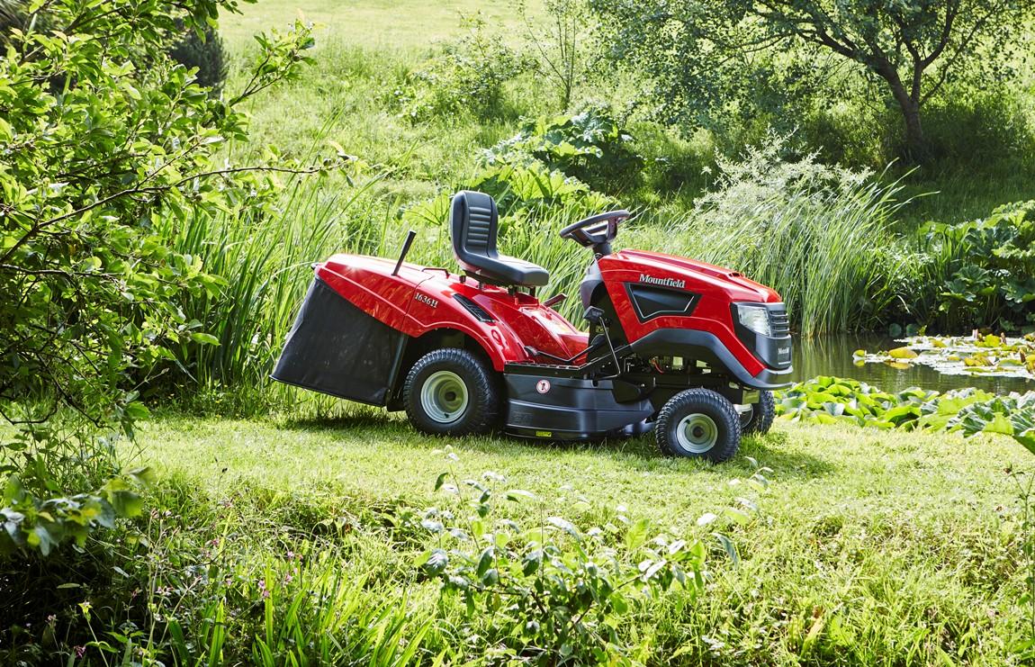 Mountfield Ride on Lawnmower - Case Study