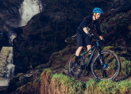 Raliegh Cyclist offroad