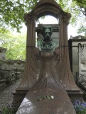 Das Grab Zolas auf dem Friedhof Montmartre