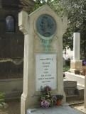 Das Grab Stendhals auf dem Friedhof Montmartre