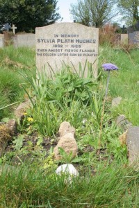 Grave of Sylvia Plath