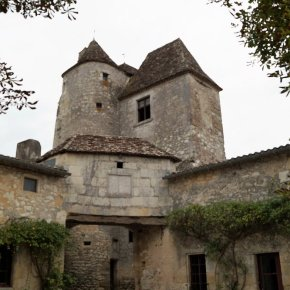 Château-de-Montaigne-Michel-Eyquem-de-Montaigne-Turm