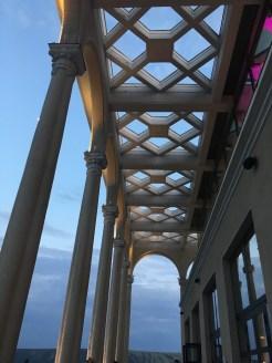 Terrasse der Seilbahnstation