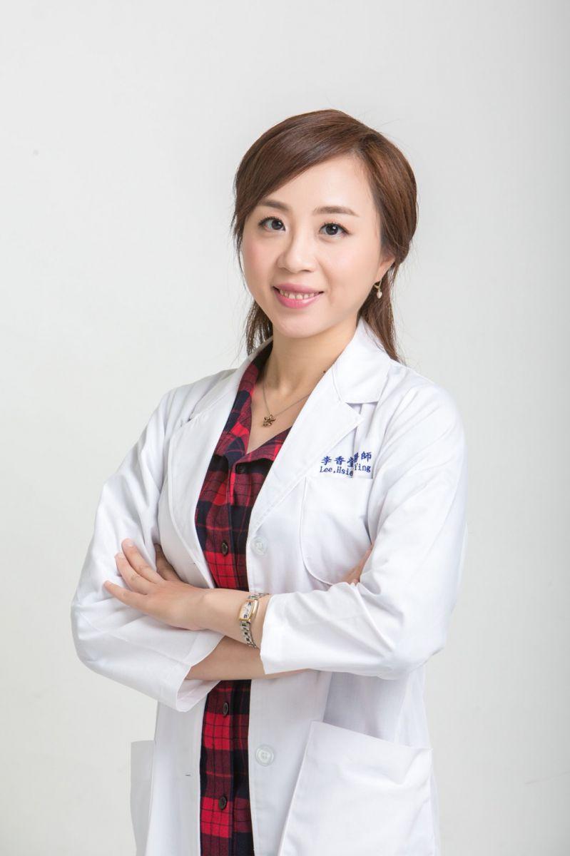 上圖:高雄市立大同醫院泌尿科李香瑩醫師
