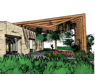 diseño arquitectónico - sketch digital y a mano alzada