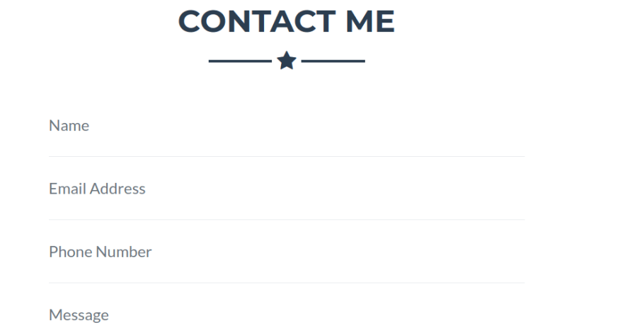 Bootstrap Freelancer Contact me Section