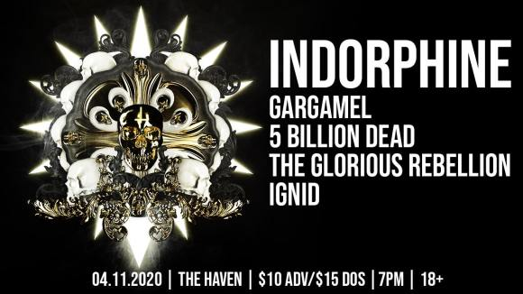 5 Billion Dead returns with Indorphine Ignid the Glorious Reunion and Gargame!