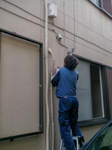 ケーブルテレビ配線工事
