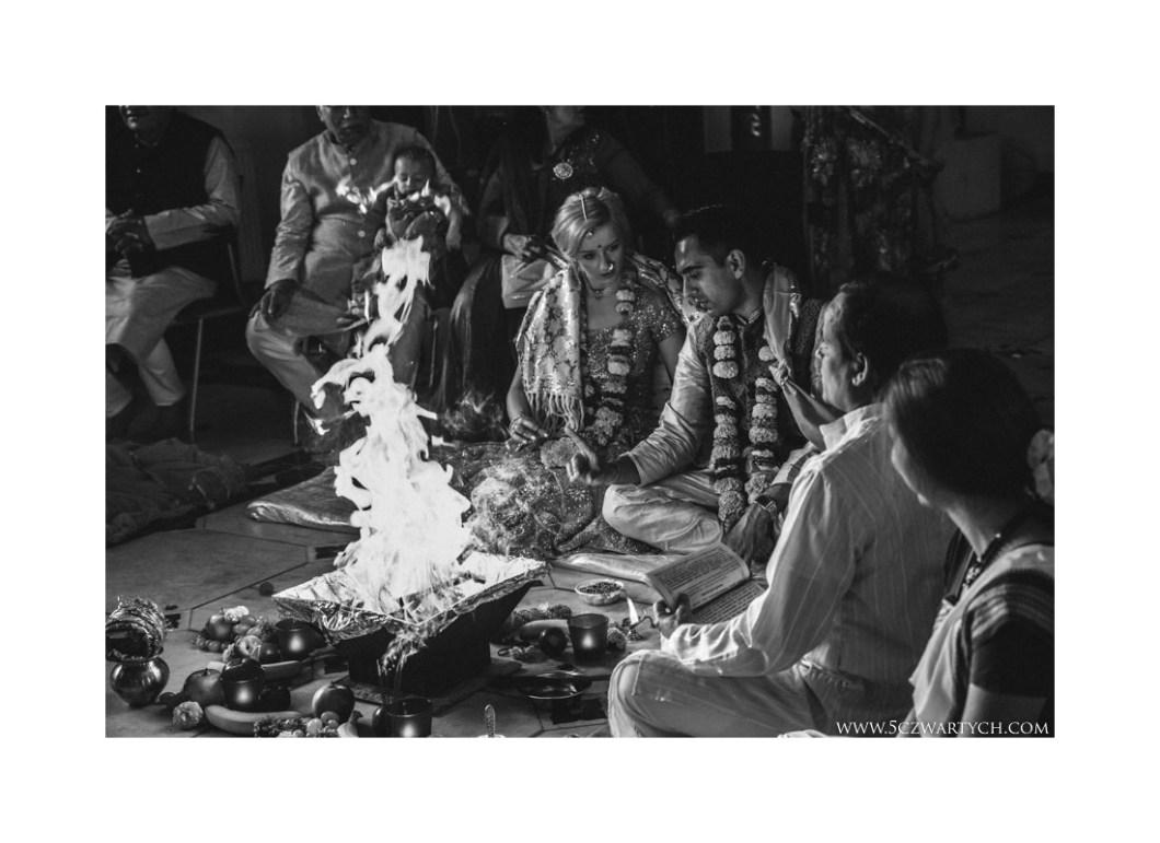Hotel Narvil ślub polsko-hinduski ceremonia ślubna zdjęcia ślubne fotografia ślubna fotograf ślubny 5czwartych Warszawa