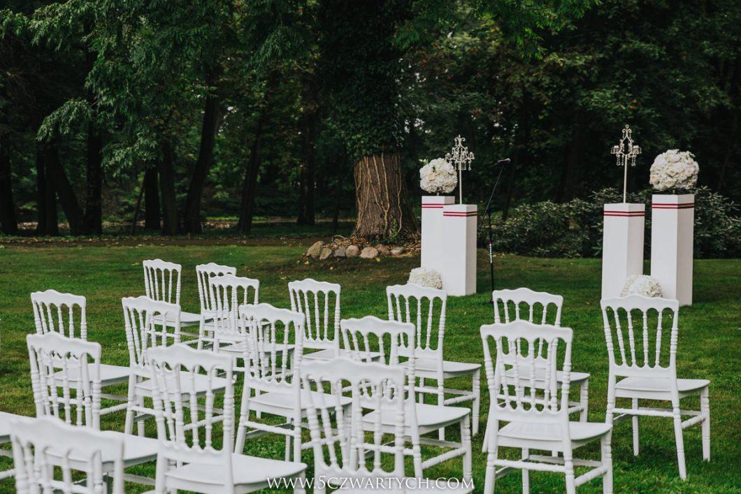 Eliza I Michał ślub Kościelny W Plenerze Pałac Rozalin 5czwartych