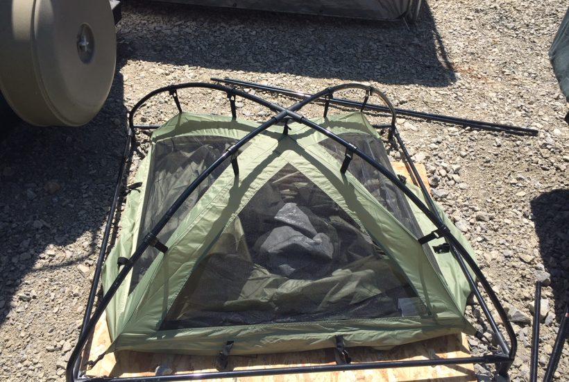 camp shower set up 5 dog farm