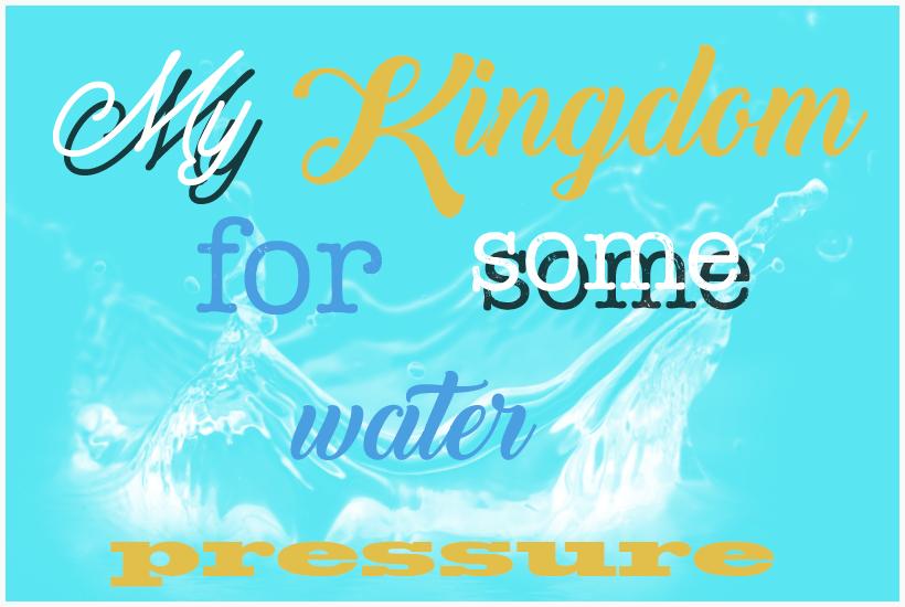 my kingdom for water pressure 5 dog fa rm