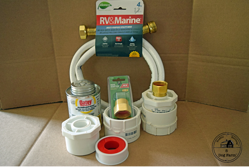 items needed for ibc water hook up 5Dog.Farm