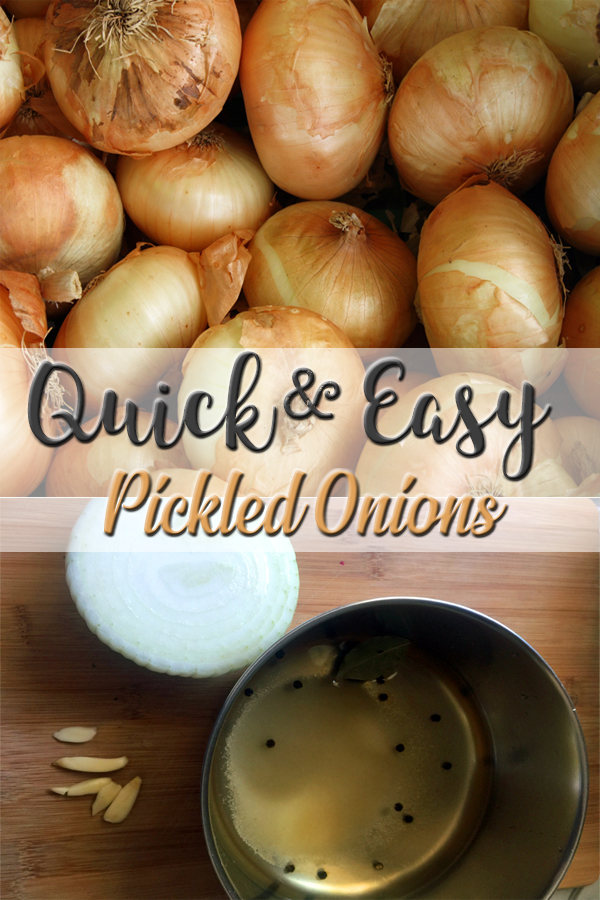 How to make quick pickled onions - 5Dog.Farm