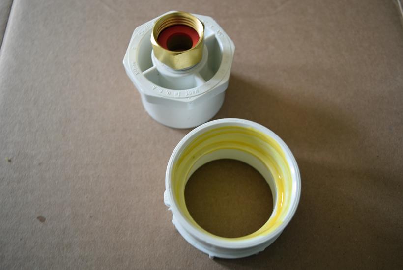 glue applied to pvc 5Dog.Farm
