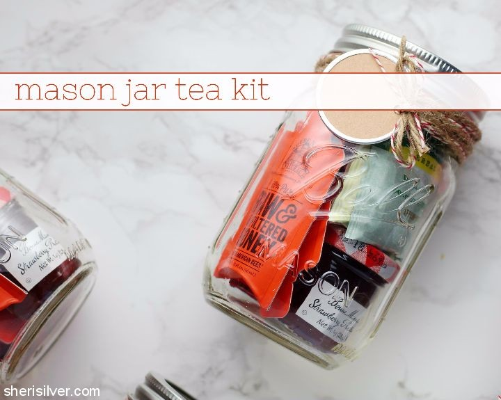 Mason Jar tea kit
