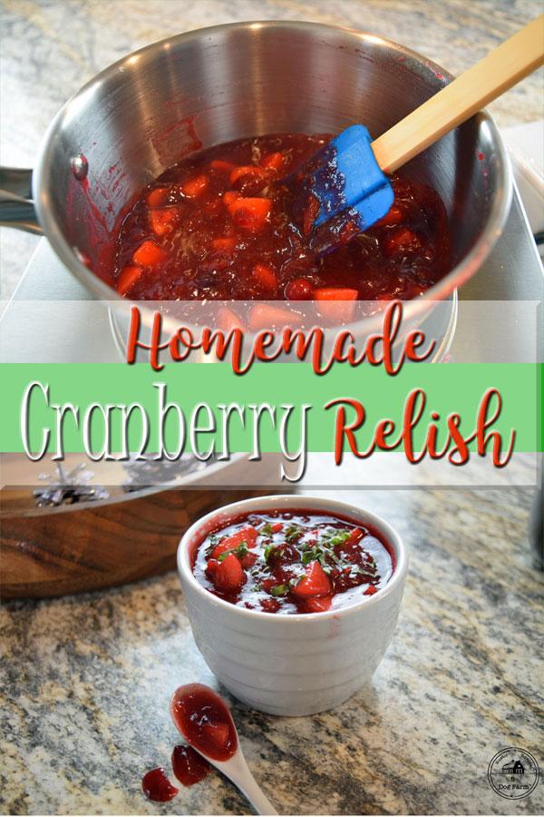 Easy Homemade Cranberry Sauce 5DogFarm