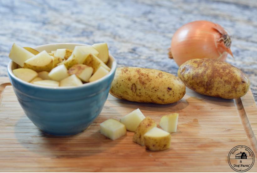 potatoes for zuppa toscana 5DogFarm
