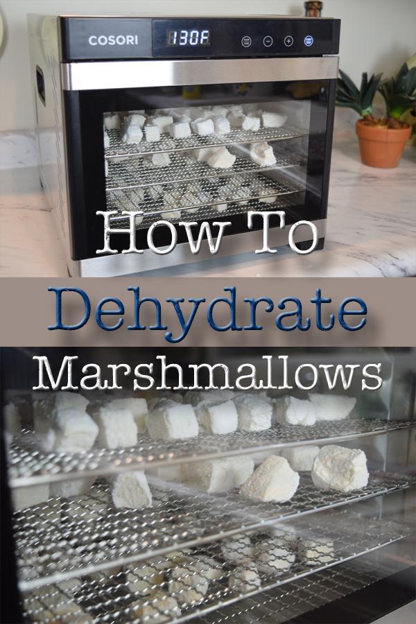 How To Dehydrate Marshmallows I 5DogFarm