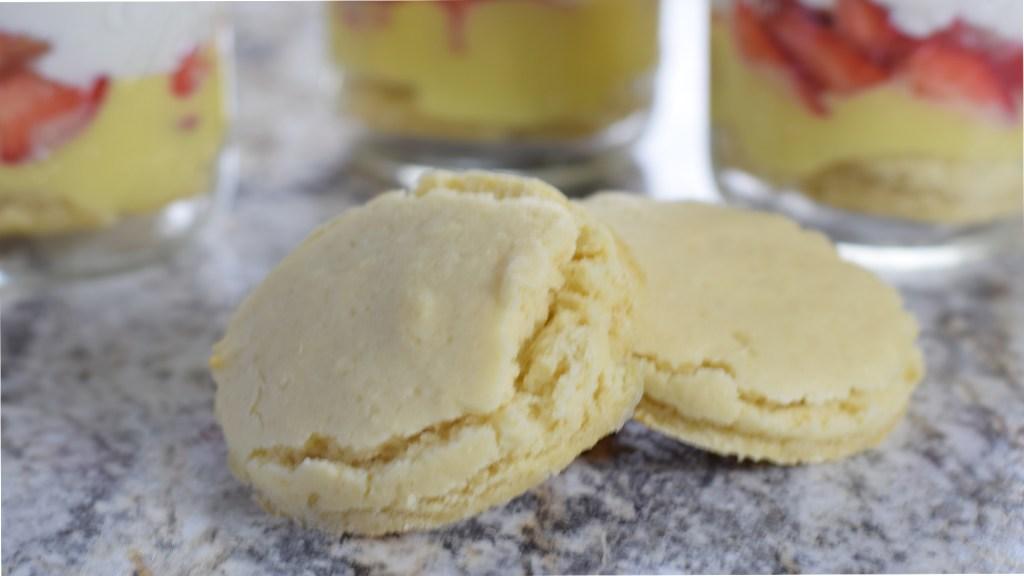 Close up of homemade shortcake recipe 5DogFarm