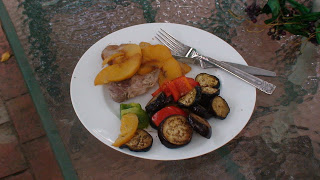 Pork with Peaches2