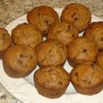 Pumpkin Chocolate Chip Muffins | 5DollarDinners.com