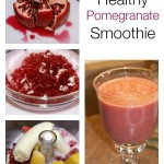 Healthy Pomegranate Smoothie | 5DollarDinners.com