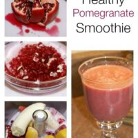 Healthy Pomegranate Smoothie | 5DollarDinners.com