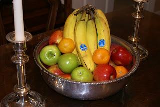 Fruit Bowl Centerpiece