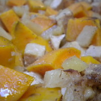 Ginger Sweet Potato Chicken Bake | 5DollarDinners.com