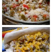 Vegetarian Lentil Burritos | 5DollarDinners.com