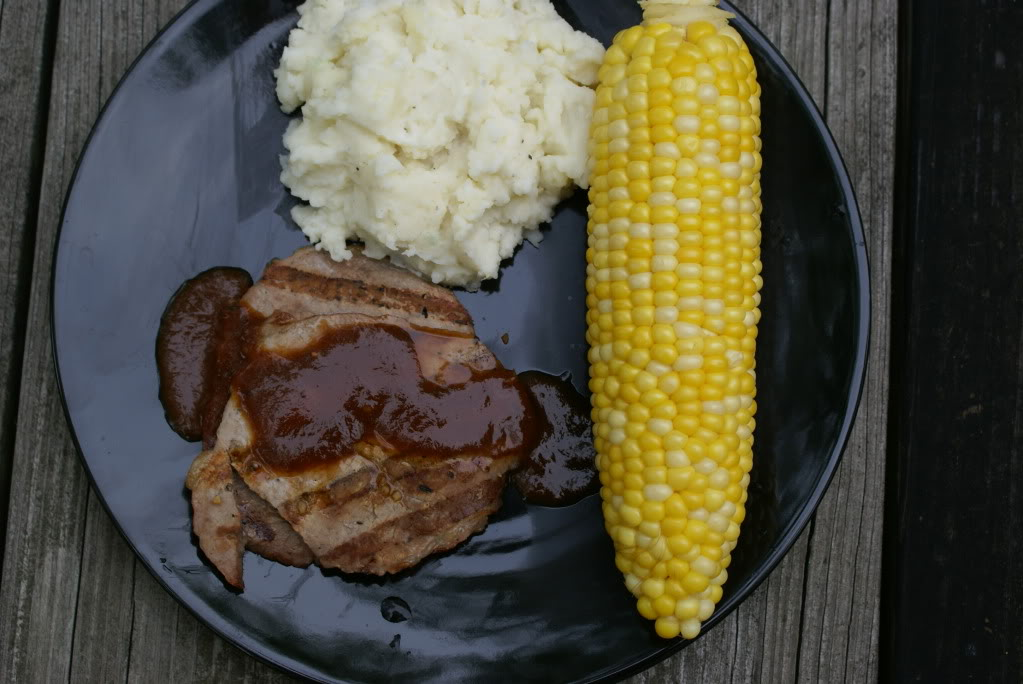 Round Steak and Mashed Potatoes