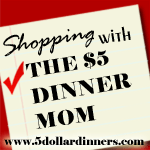 Shopping with the $5 Dinner Mom