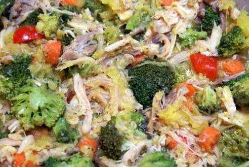 chicken-and-spaghetti-squas