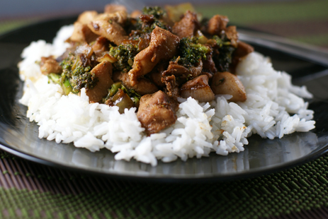 chicken broccoli stirfry