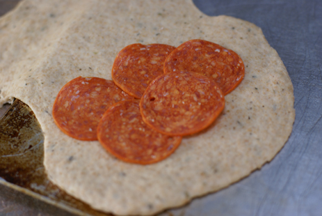 calzones 7 Pepperoni Calzones