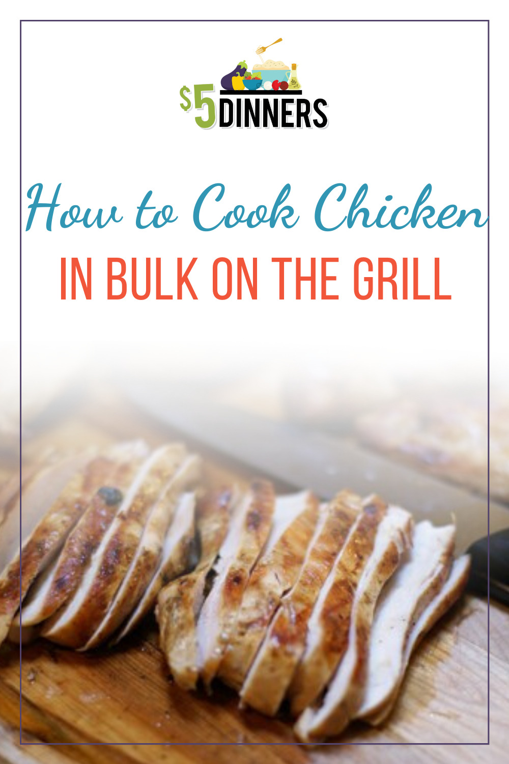 how to batch grill chicken