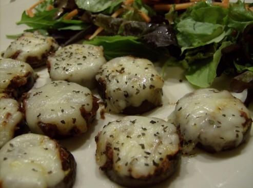 Eggplant Pizza Bites | 5DollarDinners.com