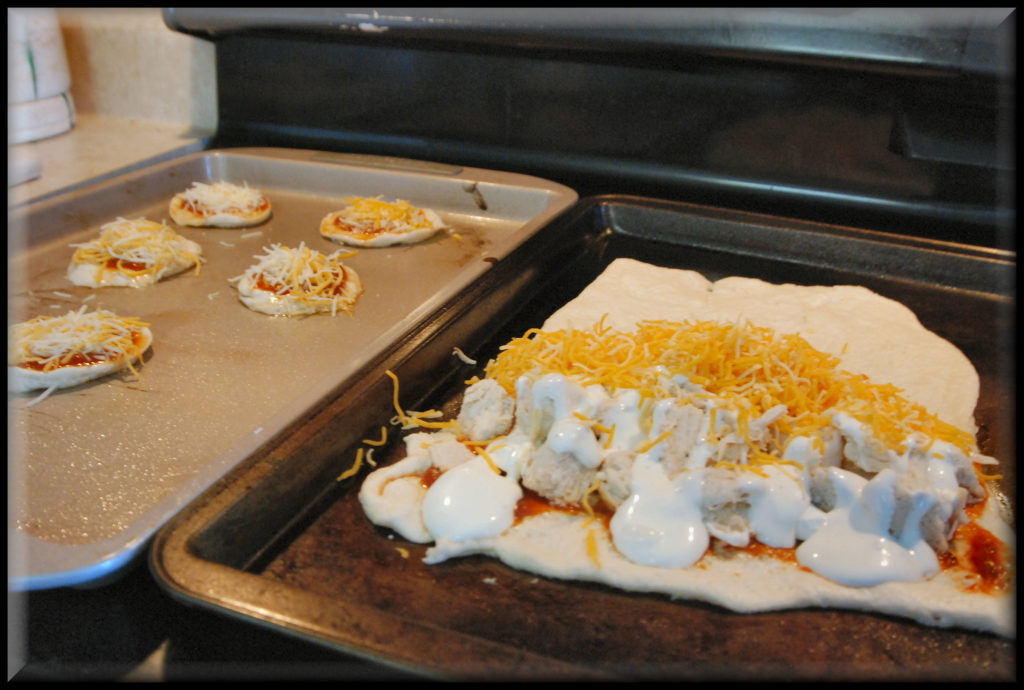 Chicken Quesadilla uncooked