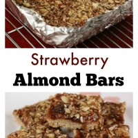 Strawberry Almond Bars | 5DollarDinners.com
