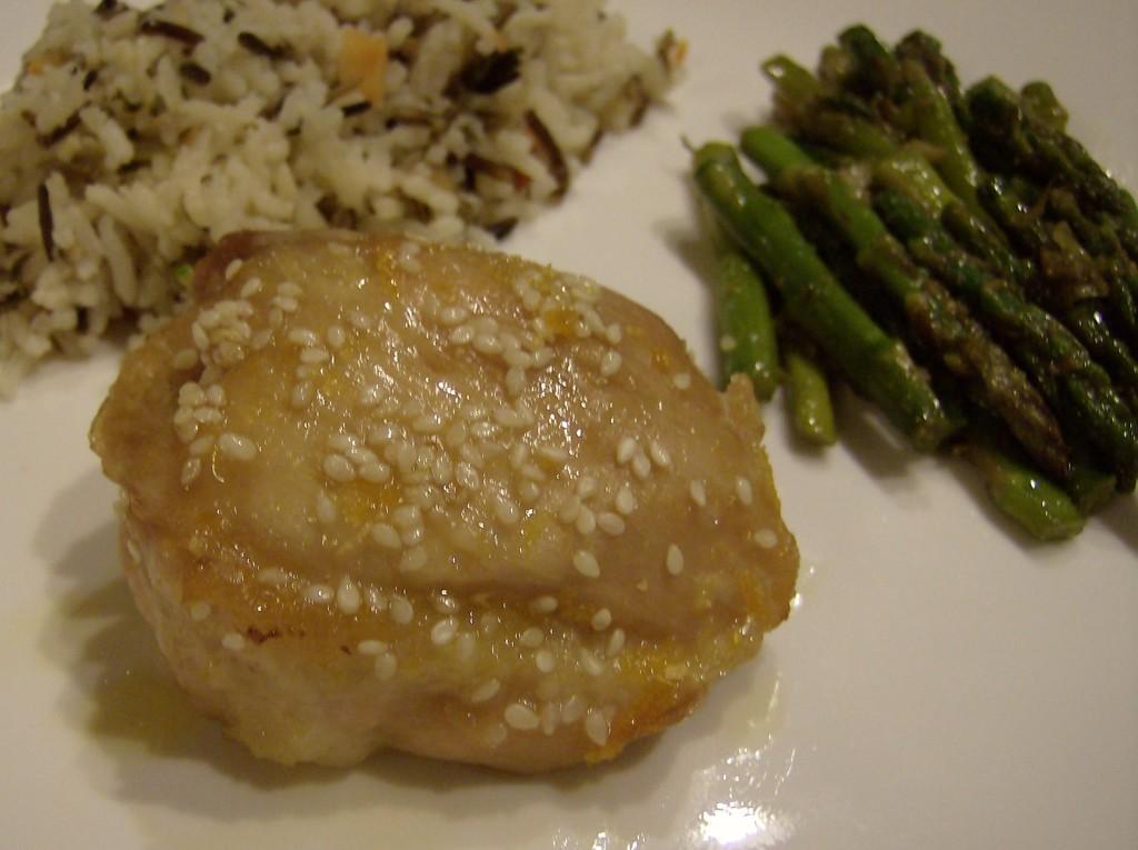 Aleas Orange Chicken Dinner