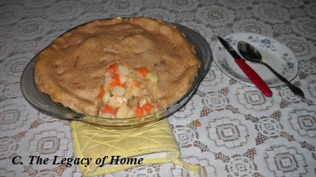 Creamy Chicken Pot Pie