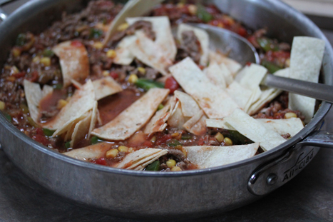 beef tamale skillet dinner