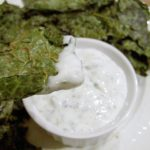Spicy Kale Chips and Yogurt Dip from 5DollarDinners.com