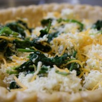 Cheesy Spinach Quiche | 5DollarDinners.com