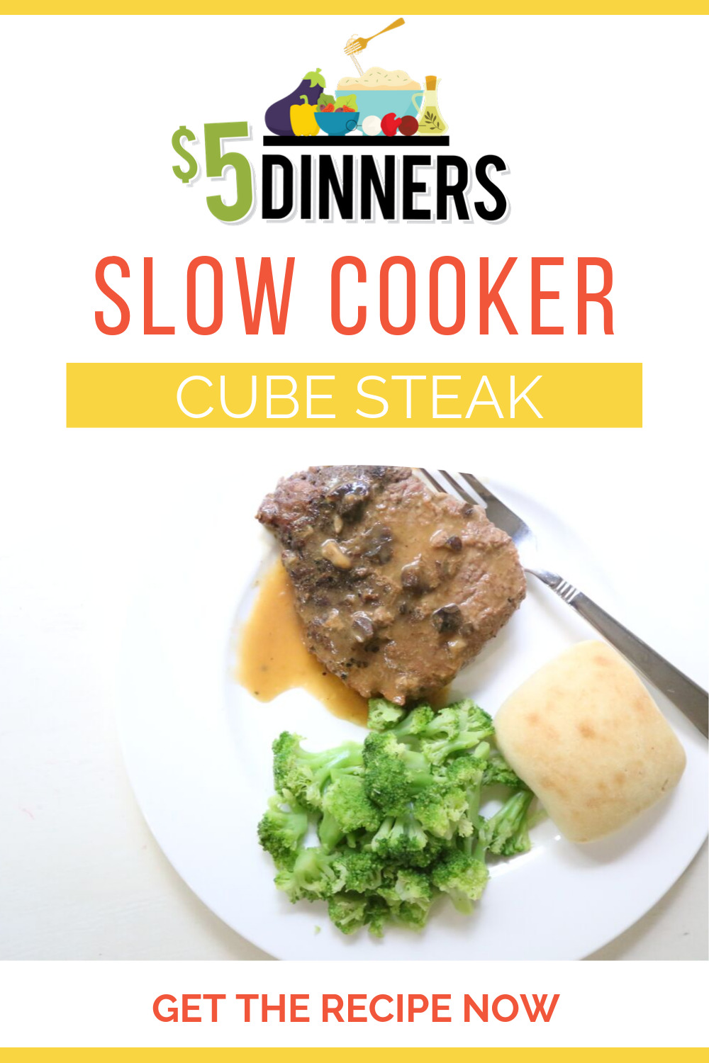 Slow Cooker Cube Steak