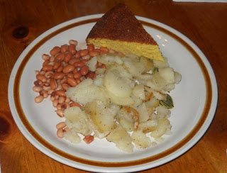 Southern Beans, Potatoes and Cornbread