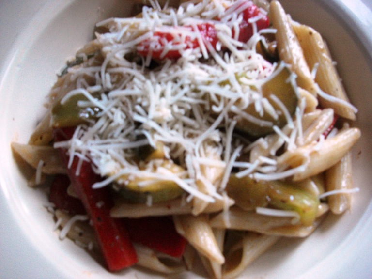 Marinated Vegetable Pasta
