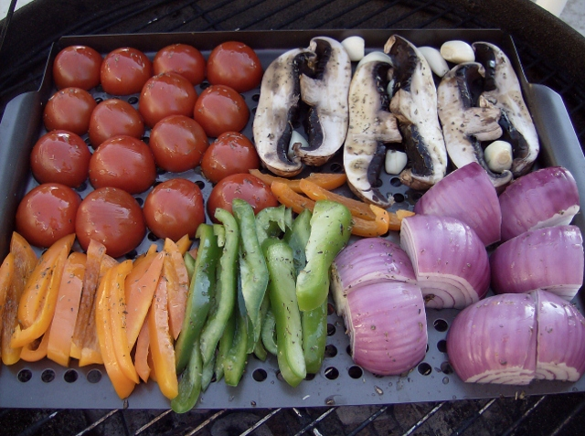Grilling Veggies to make Ratatouille (640x477)