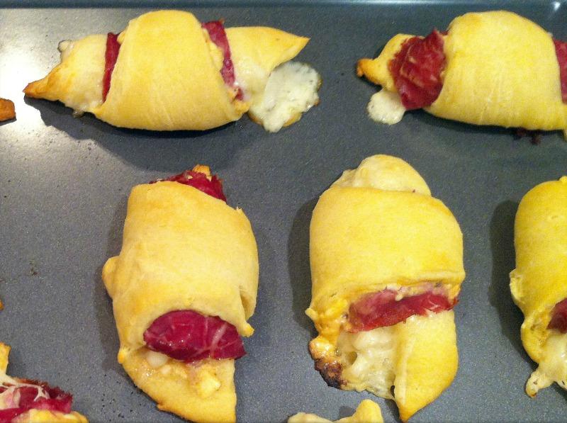Reuben Croissants